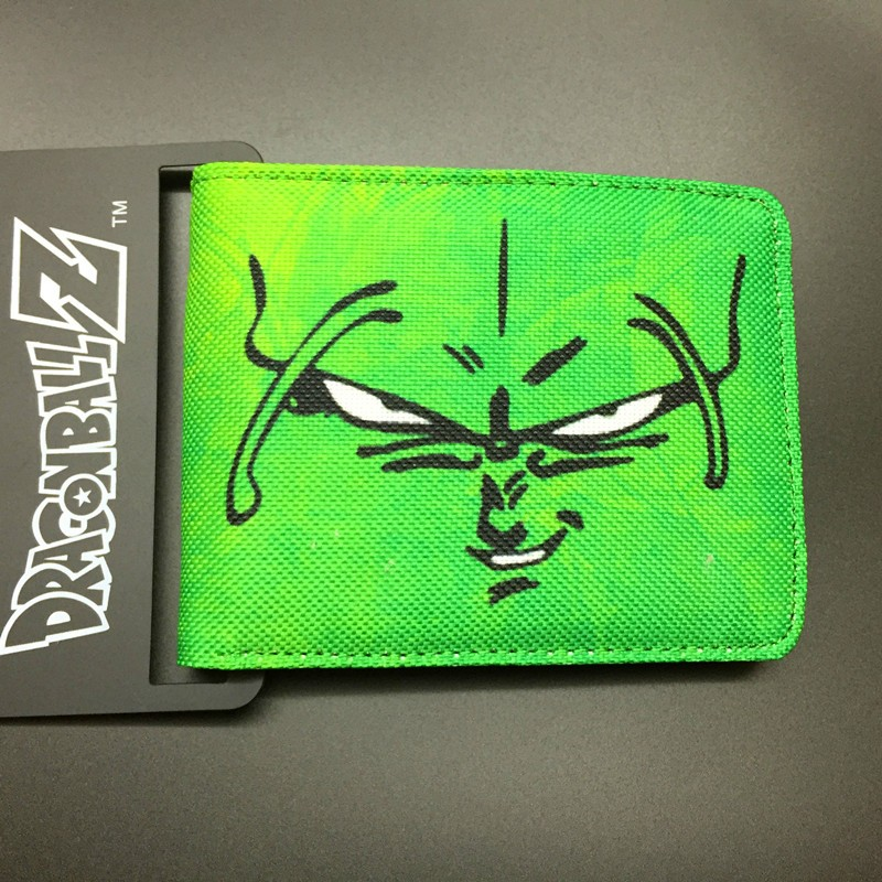 DRAGON BALL character Piccolo canvas man wallets game series Gears of War Saint Seiya famous brand card holder 2018 epic game gears of war logo wallets purse red leather man women new w135