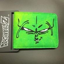 DRAGON BALL character Piccolo canvas man wallets game series Gears of War Saint Seiya famous brand card holder