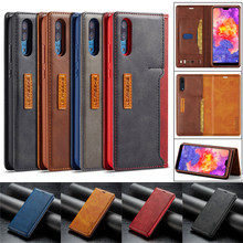 Huawei P20 Pro Case Leather Luxury Brand Wallet Fundas Lite Flip Card Slot Phone For Coque Cover