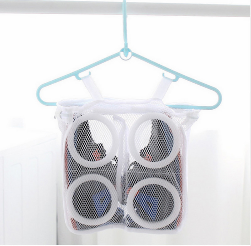 Home Storage & Organization Usa Sport Washing Sneaker Tennis Laundry Net Hanging Wash Bag Shoes Boot Cleaner Home & Garden