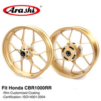 Arashi CBR1000RR 2008 2016 Front Rear Wheel Rims For HONDA CBR 1000 CBR1000 RR CBR 1000RR 08 09 10 11 12 13 14 15 16 Motorcycle