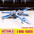 Новый 2016 ЛЕПИН 05029 Star Wars Первый Заказ эдгара по X-wing истребитель строительные блоки X крыла звездные войны Игрушки Для Детей 75149