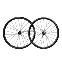 ICAN carbon road disc aero clincher wheels Novat ec D411/D412 UD matt 28/28H cyclocross wheelset CX ray spoke with XD free hub