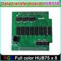 P3 P4 P5 P6 P7.62 P8 P10 полноцветный СВЕТОДИОДНЫЙ экран контроллера, Получение карты HUB75 борту