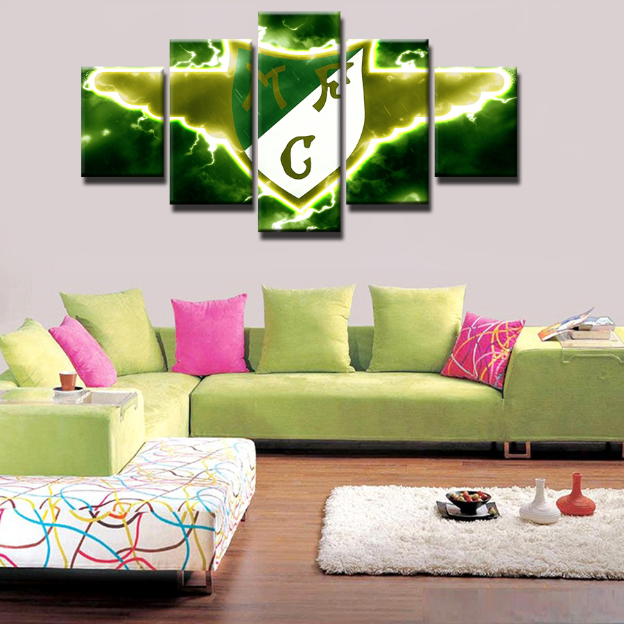 Furniture of america chaves contemporary 3 piece sofa set -  Q617 5 Pieces Set Moreirense Fc Canvas Print Free Shipping