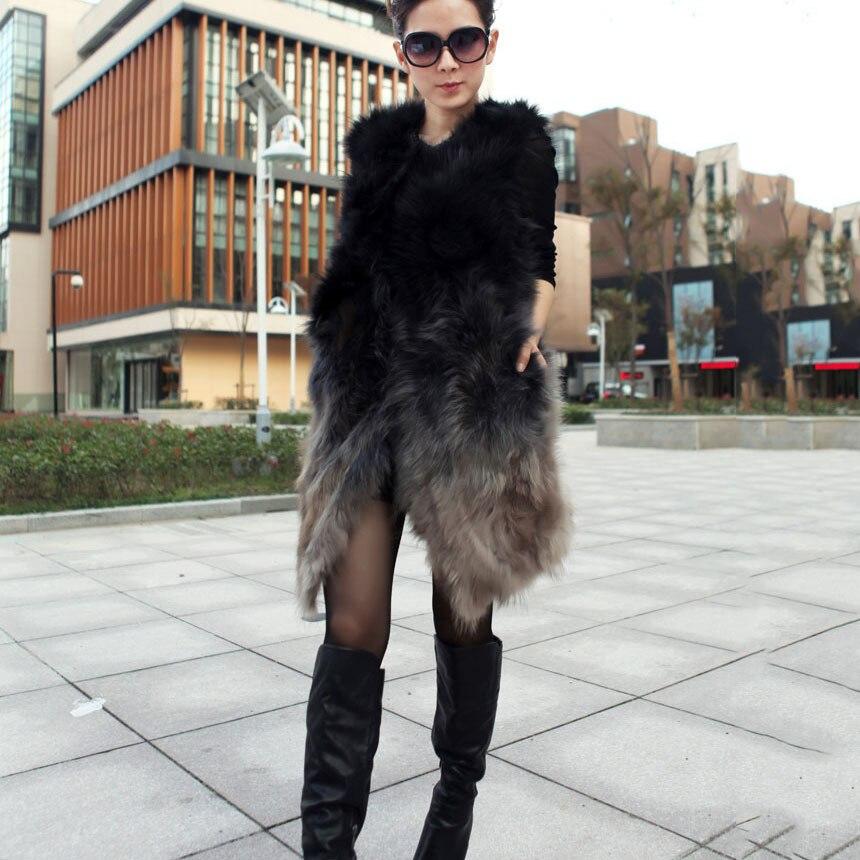 Chaude Manteaux Réel Nouveau Raton Véritable Naturelle Luxe Gilet Gilets Femmes De Fourrure Mode Femelle Picture Lady Laveur Sleevelessjacket Hiver Color 2018 hsrCQdtx