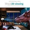 Mini-Projetor de mídia 400-600 Lumens Suporte 320x240 P TV 10 W-24 W LED Projetor Home Cinema para Uma TV a Cabo Grátis L3FE