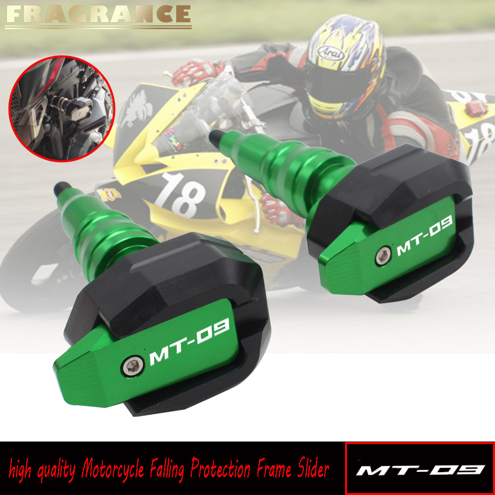 For YAMAHA MT-09 MT09 MT 09 2013-2018 Motorcycle Accessories CNC Body Frame Sliders Crash Protector Motobike Falling Protection