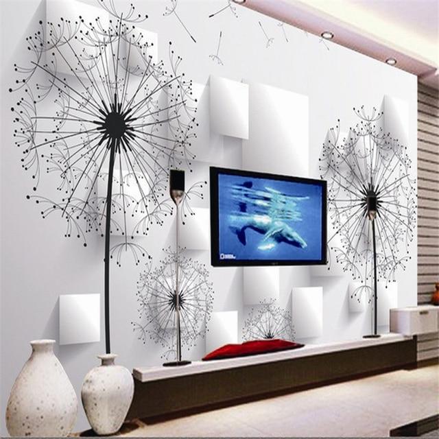 beibehang 3d papier peint tv fond papier peint pour salon canap toile de fond mural ktv - Photo De Papier Peint Pour Salon