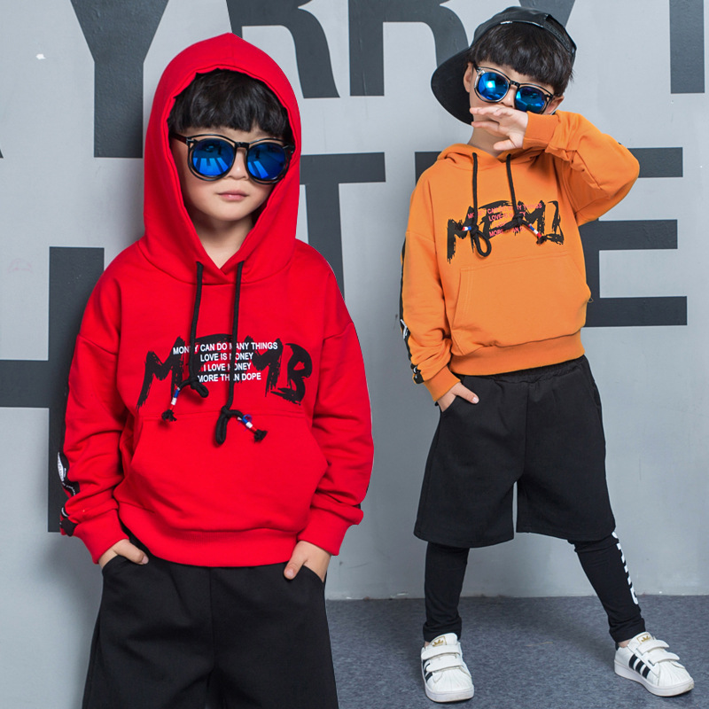 2018 spring autumn Korean Kids Clothes Sets Baby Sport Boys Clothing Sets Suits Hooded Outfits Suit Children Clothes Set 2 Piece spring autumn children s clothing suits kids sweatshirts pants children sports suit boys clothes set retail toddler leisure
