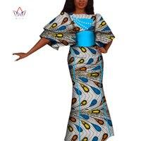 Dashiki 2019 African Dresses for Women bazin nigerian Elegant african print dresses Elegant High Quality Dress BRW WY4229