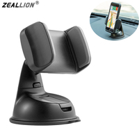 Zeallionユニバーサル360度回転スタンドマウントslicone吸盤風防車携帯電話ホルダー