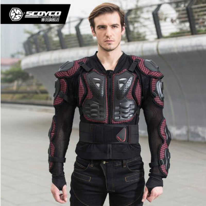 2017 New SCOYCO Off-road motorcycle armor riding protective gear male anti-fall suits knight equipment armors clothing 2 colors 2015 new duhan dk 018 moto pants motorcycle jeans off road motorcycle riding pant drop resistance external protective gear
