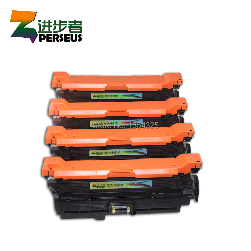 4 Pack HIGH QUALITY TONER CARTRIDGE FOR HP 647A CE260A CE261A CE262A CE263A FOR HP COLOR LASERJET CP4525 CP4525 CP4520 PRINTER