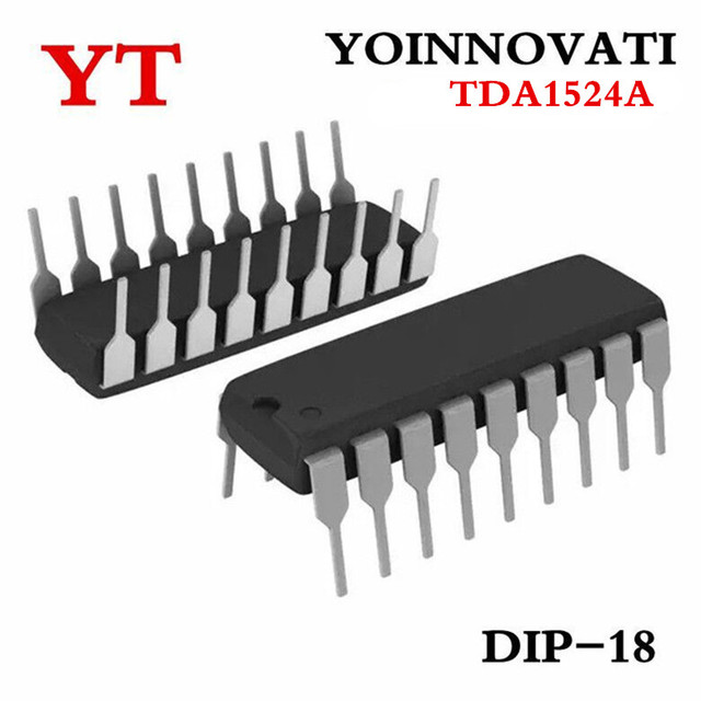 US $9 2 20% OFF|Free shipping 10pcs/lot TDA1524A TDA1524 DIP Stereo  tone/volume control circuit-in Integrated Circuits from Electronic  Components &