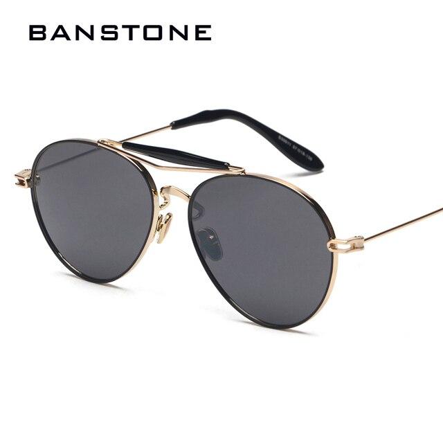 Art Und Weise Doppelte Beam Metallrahmen-Sonnenbrille-Sonnenbrille,A2