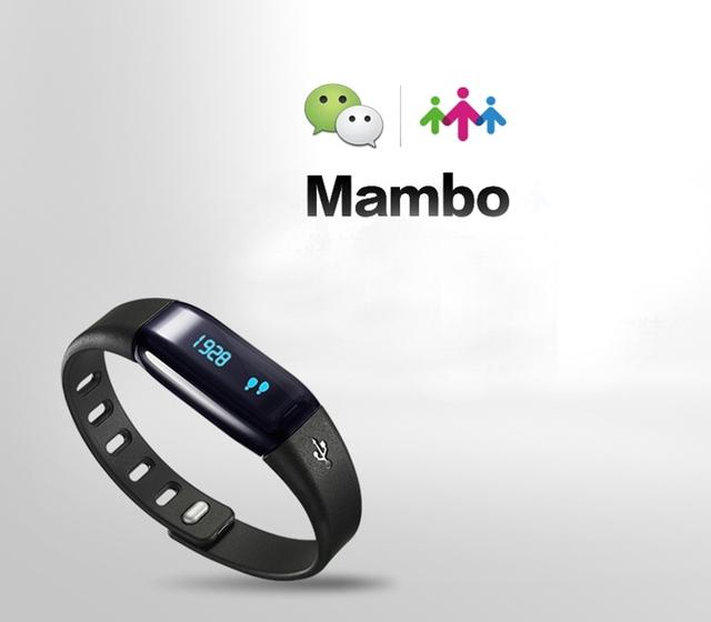 Lo nuevo lifesense mambo salud pulsera inteligente bluetooth reloj pulsera muñequera rastreador deportes podómetro banda para iphone 6 6 s