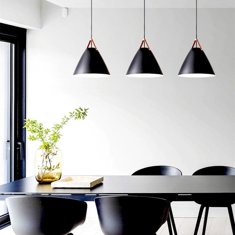 Kitchen Pendant Light Bedroom Lamp Bar Ceiling Light: Black Pendant Lights Kitchen Island Light Room Bar Modern