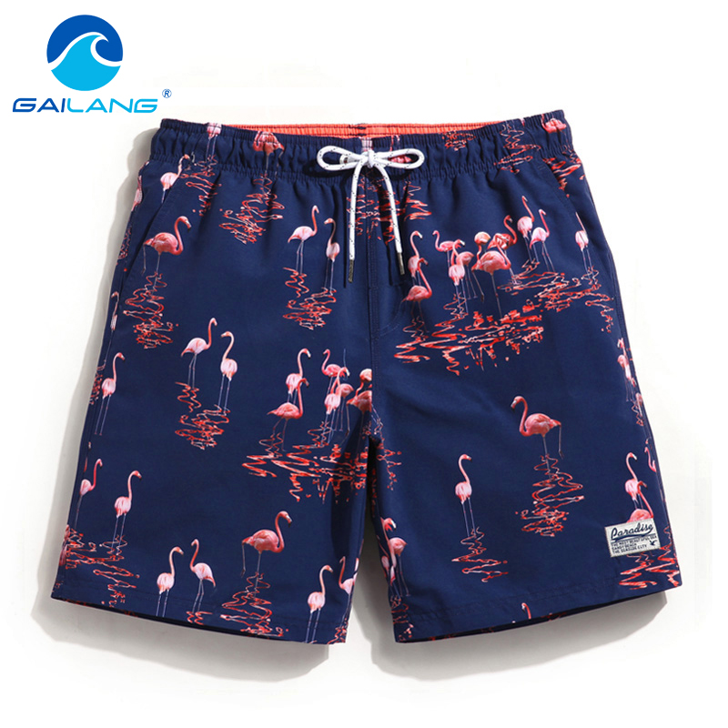 Gailang Brand Men's Beach   Shorts     Board   Boxer Trunks   Shorts   Quick Drying Men Boardshorts Plus Size Fashion Men Swimwear Swimsuits