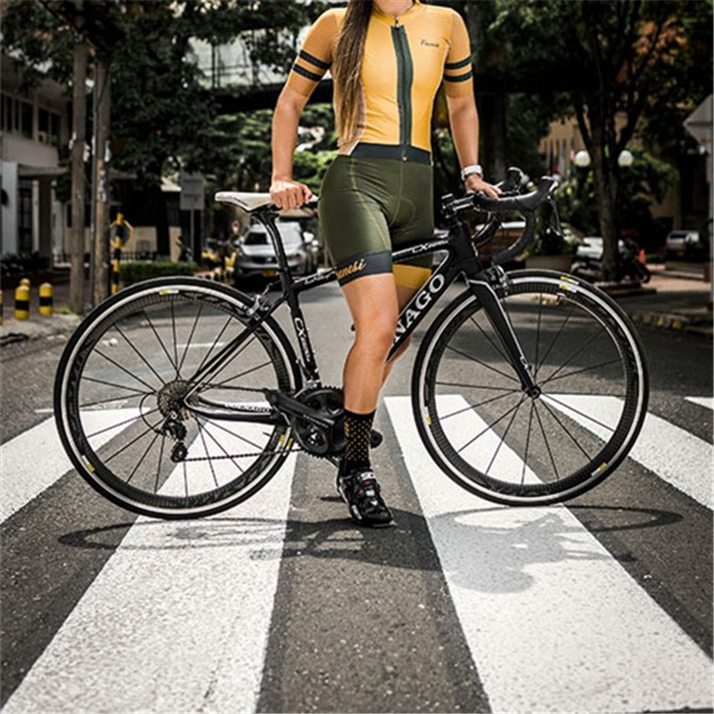 2019 Frenesi femmes skinsuit sexy body cyclisme Maillot ciclismo vêtements triathlon Maillot ski costume roupa ciclismo