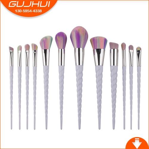12 Unicorn Makeup Brush Sets, Beauty Tools, Make-up Powder, Brush Sets, Brush, GUJHUI 12 unicorn makeup brush sets beauty tools make up powder brush sets brush gujhui