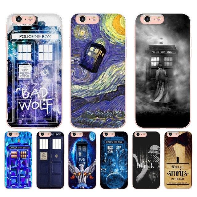 MaiYaCa Doctor Who TV Wallpaper Diy Printing Drawing TPU Phone Case For IPhone X 6 6s