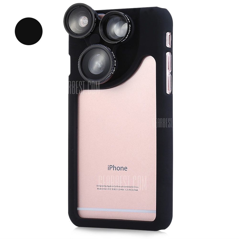 a1f033f9719e8d Goestime Phone Protective Case for iPhone 6 plus Lens Case with Lens for iPhone  6s Lens for iPhone 6 Camera Lens Phone Cover-in Mobile Phone Lenses from ...