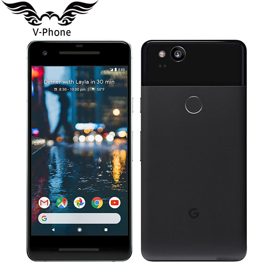 Brand New Original 5 inch EU Version Google Pixel 2 Mobile phone 4G Snapdragon 835 Octa