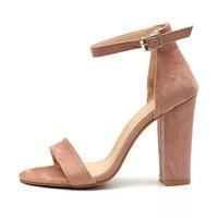 Women Pumps Fashion Heels Sandals For Women Summer Shoes Wedding Heels Women Buckle Strap Valentine High