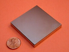NdFeB Magnet Block 2x2x1/4 thick Strong Neodymium Permanent Magnets Rare Earth Magnets Grade N42 NiCuNi Plated 1pc 30 x 20 x 10mm strong block cuboid rare earth neodymium magnets n50 permanent magnet powerful magnet square magnet