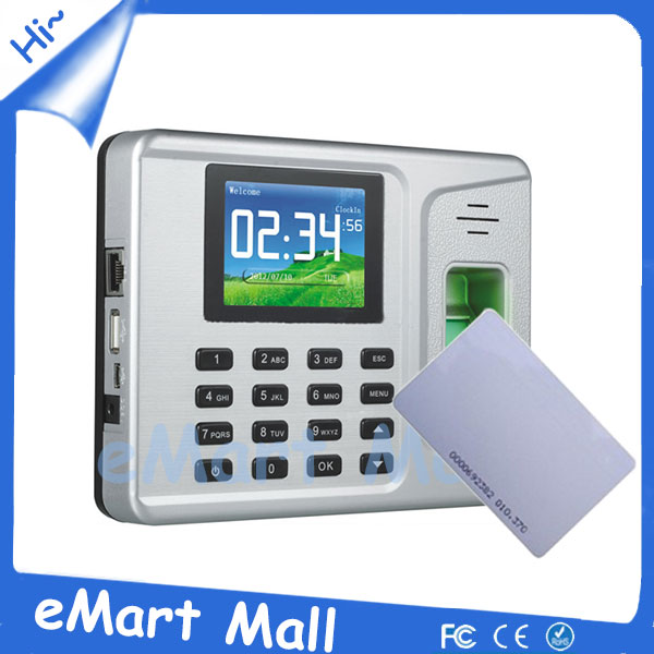 ФОТО Free shipping Tcp/ip Fingerprint Time Attendance & Rfid Time Attendance Managment System
