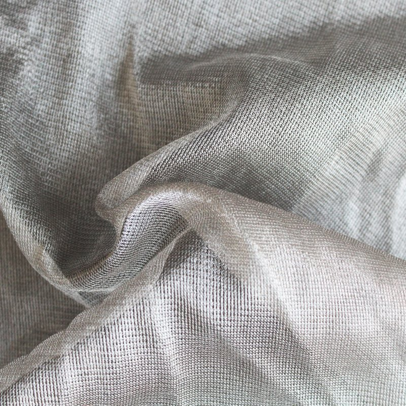 100% silver fiber mesh medical electrode cloth conductive health functional fabrics