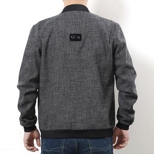 Image 3 - Plus size 10XL 9xl 8xl 6xl New 2017 Jacket Men Fashion Casual Loose Mens Jacket Sportswear Bomber Jacket Mens jackets and Coats