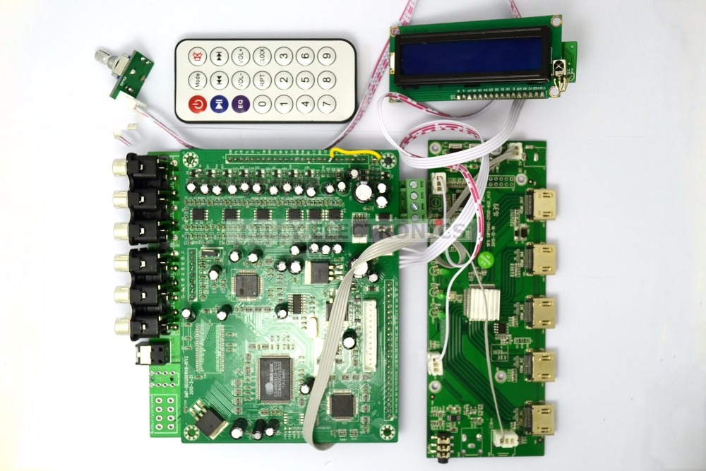ZY-DTS8HD 7.1 Channel Decode Board DTS AC3 3D HDMI 1.4 DTS Decoders