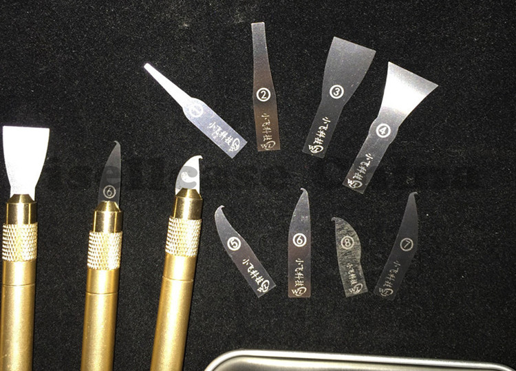 Купить Ремонт нож ПРОЦЕССОР A7 A8 A9 A10 материнская плата Бурин, Чтобы Удалить телефон процессоров ножи для iphone микросхема ремонт тонкие лезвия инструментов дешево