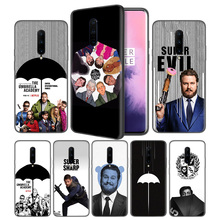 the Umbrella Academy Soft Black Silicone Case Cover for OnePlus 6 6T 7 Pro 5G Ultra-thin TPU Phone Back Protective