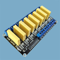 8 Channel Solid State Relay Module 5V12V24V Low Level DC Control DC Load 5A For PLC