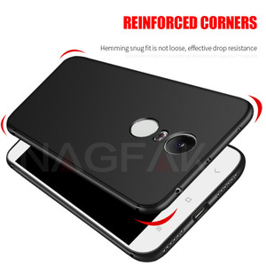 Image 3 - NAGFAK Silicone Phone Case for Xiaomi Redmi Note 4 Note 4X Global Version Note4 Cover Matte Soft Protective Phone Bags Case Capa