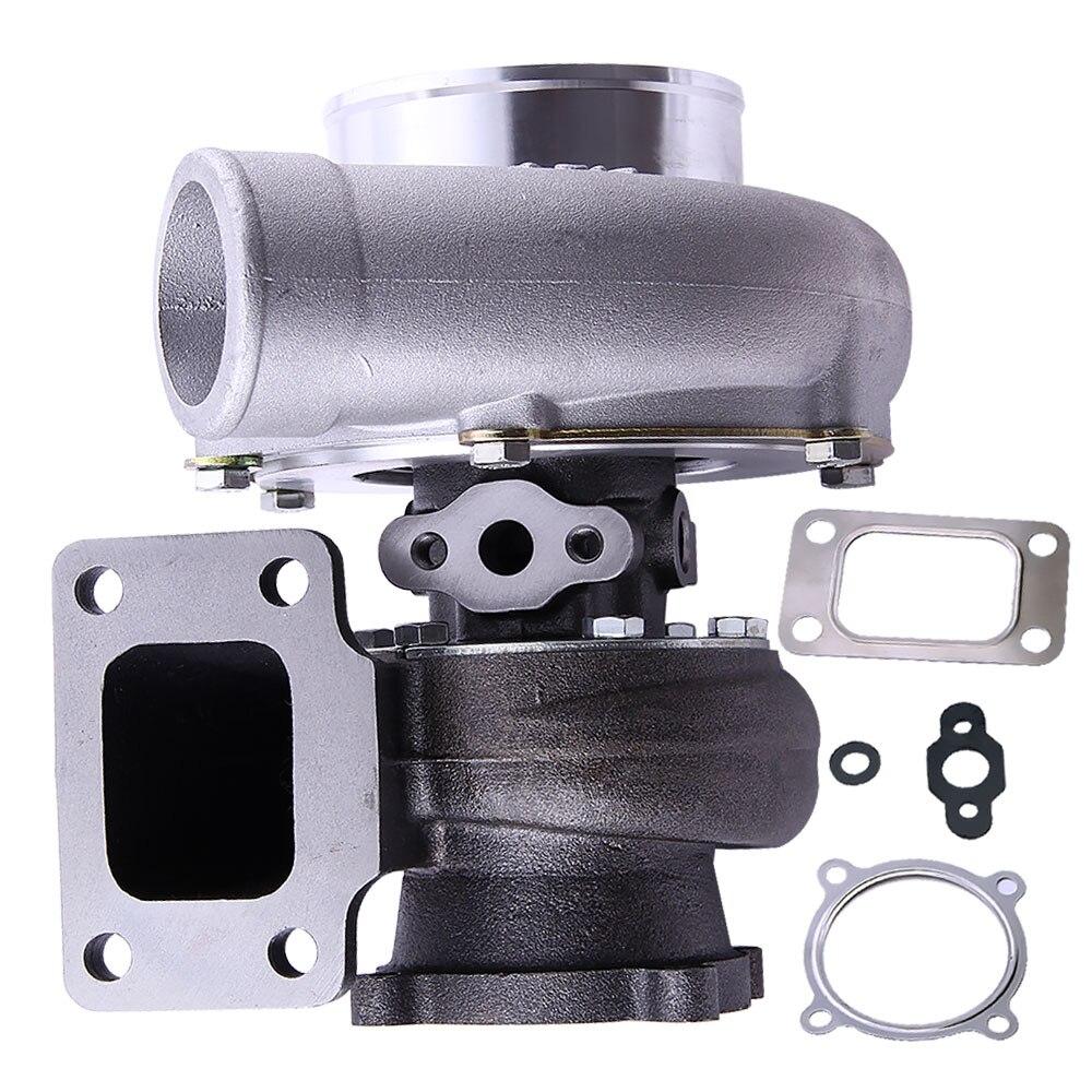 Turbo Turbocharger Anti Surge GT3582 GT35 T3-Flange AR 0.63 Raffreddato Ad Acqua per Nissan Skyline R33 AR. 63 A/R 0.7 RB25 RB20 Motore