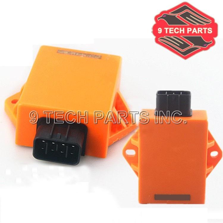 NIEUWE GRATIS VERZENDING Racing Gemodificeerde onderdelen EN125 QS125 GSX125 CDI Digitale Ontsteking Besturingsmodule CDI Doos UNIT 8 pins plug