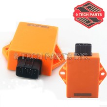 NEW FREE SHIPPING Racing Modified parts EN125 QS125 GSX125 CDI Digital Ignition Control Module CDI Box UNIT 8 pins plug