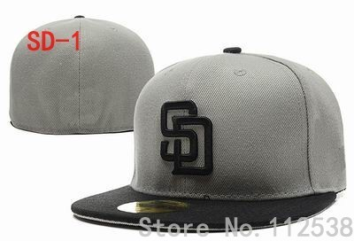 c1a7462ec Retail brand fitted baseball team hats styles sports hats San Diego ...