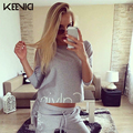 KEEVICI crop top Women's tracksuits Sportsuit Tracksuit for women 2 two Pieces Set Sweatshirts Pullover tracksuit women