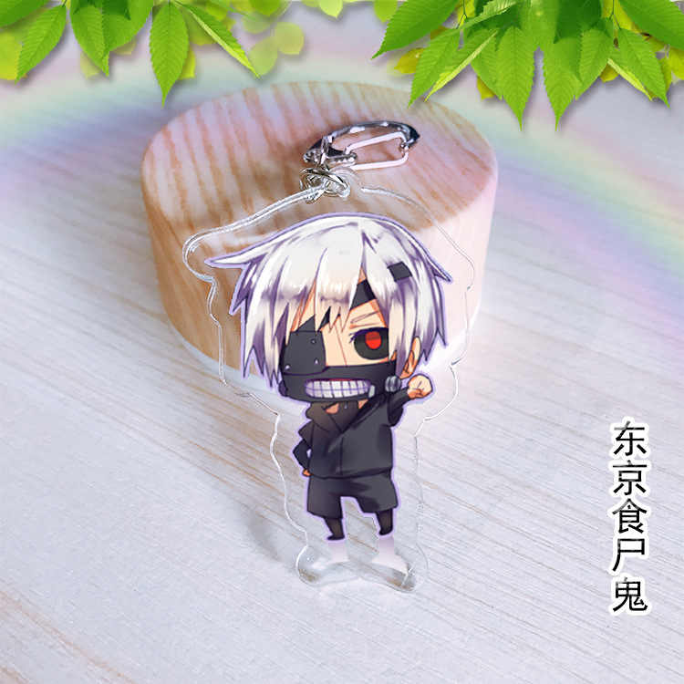 A viagem de Chihiro Cosplay Hayao Miyazaki Meu Vizinho Totoro keychain Acrílico Pingentes Chaveiro Cosplay Kagami Taiga Hyuga Junpei brinquedos