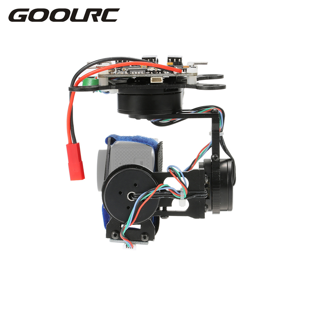 Aluminum Alloy 3 Axis Brushless Gimbal & Storm32 BGC Control Panel for Gopro 3 4 F450 F550 CX-20 Aerial Photography upgrade debugging edition jiyi fpv g3 3d 3 axis gimbal for gopro hero3 3 hero4 aerial photography