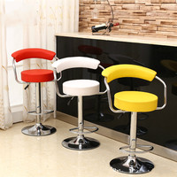 High quality Hot Selling Liftable Bar Chair PU Leather Bar stool comfortable European style Highchair