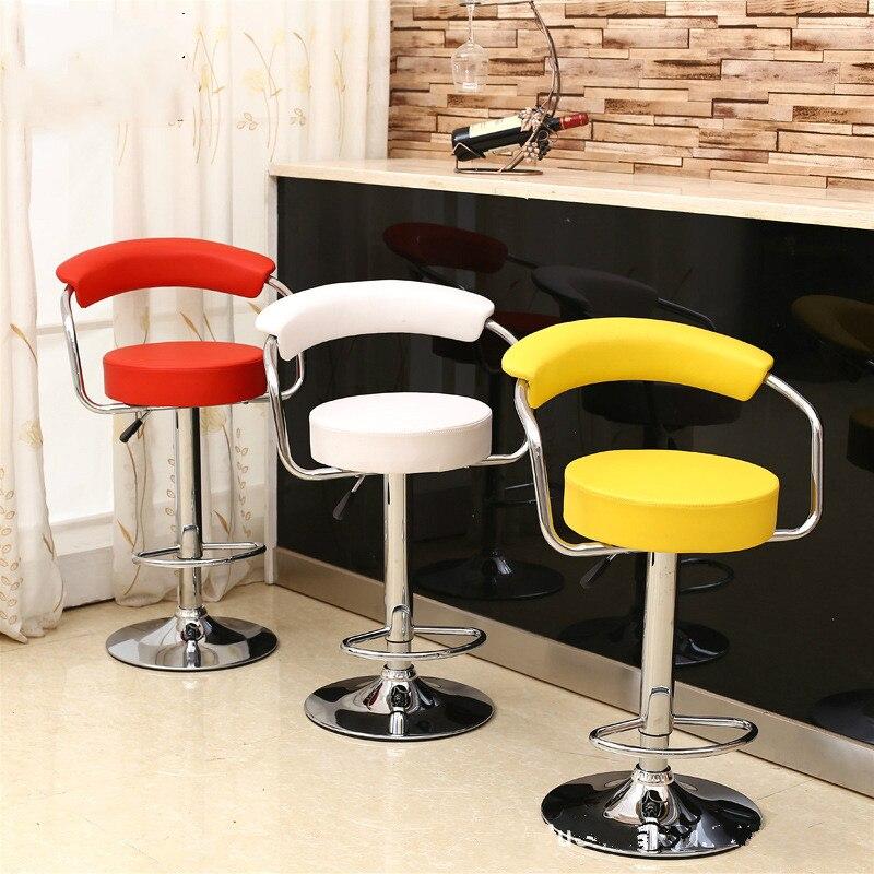 Hohe Qualität Heißer Verkauf Heb Bar Stuhl Pu-leder Barhocker Komfortable Europäischen Stil Hochstuhl