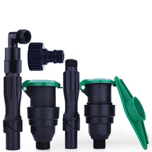 Garden Sprinklers Water Intake Valve Greening Device to Insert Lawn Pipe Connection Key Rod 6 minutes 1 inch