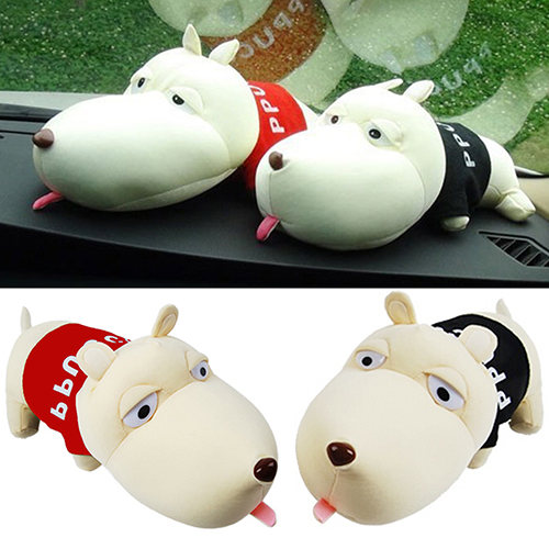 Cute Cartoon Dog Bamboo Charcoal Bag Car Deodorant Air Purifying Useful Decor  8P6X