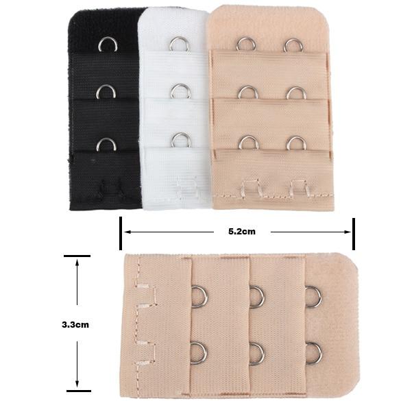 3 шт бюстгальтер расширение нижнее белье ремень удлинитель Замена с 2 крючками бар расширители-MX8